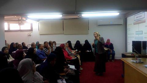 """""""خدمة المجتمع"""" تنظم دورة تدريبية بعنوان""""التخطيط الاستراتيجي """" بجامعة القناة"""