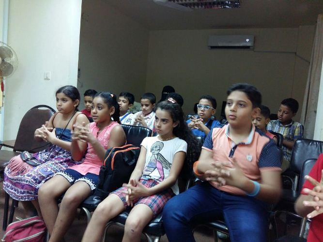 الصحة في فاعليات اليوم السابع من برنامج جامعة الطفل.