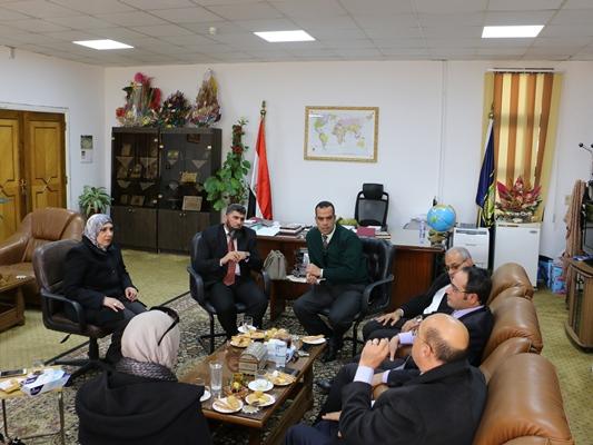 تعاون مشترك بين جامعة القناة والمنظمة المصرية لمكافحة المنشطات