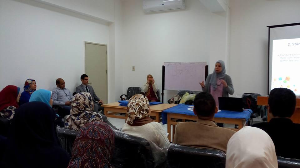 (برنامج الباحث المتميز) مبادرة لشباب الباحثين بجامعة قناة السويس