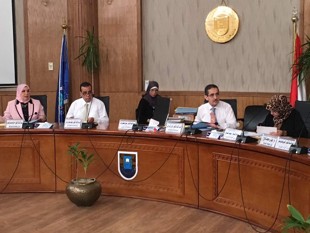 مجلس التعليم الغير تقليدي والمفتوح بجامعة قناة السويس يناقشان البرامج الدراسية بالجامعة