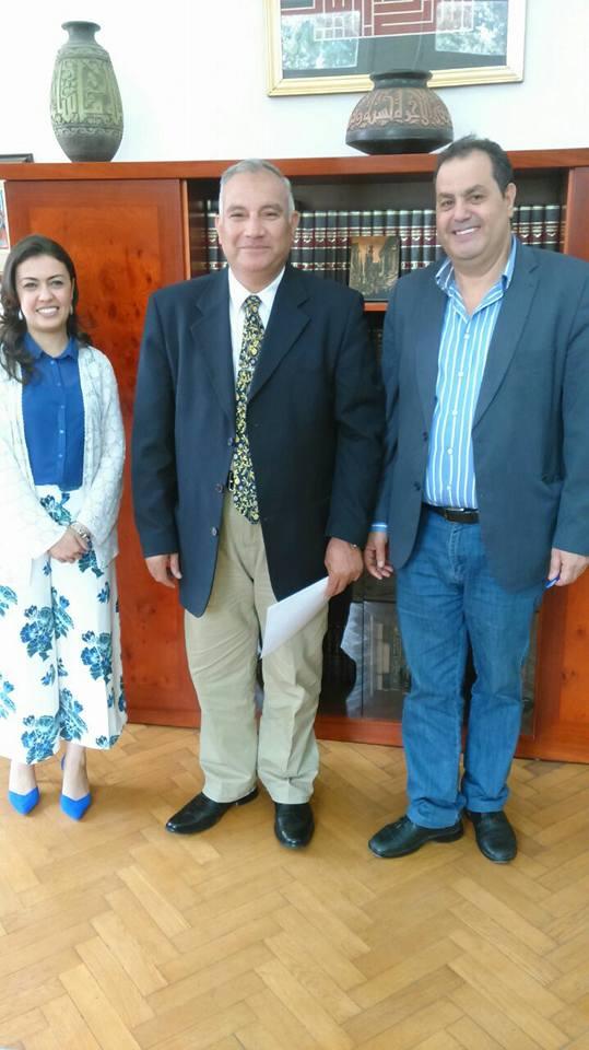 توقيع بروتوكول تعاون بين كلية الألسن جامعة قناة السويس والمركز القومي للترجمة