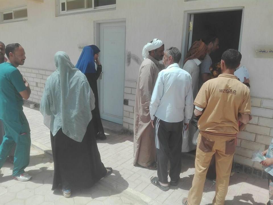 قوافل الإصحاح البيئي لجامعة قناة السويس تنطلق لرأس سدر بجنوب سيناء
