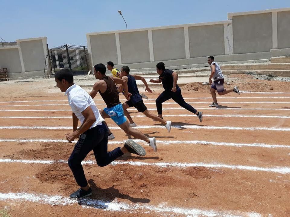 بدء اختبارات القدرات القبول لكلية التربية الرياضية بجامعة قناة السويس