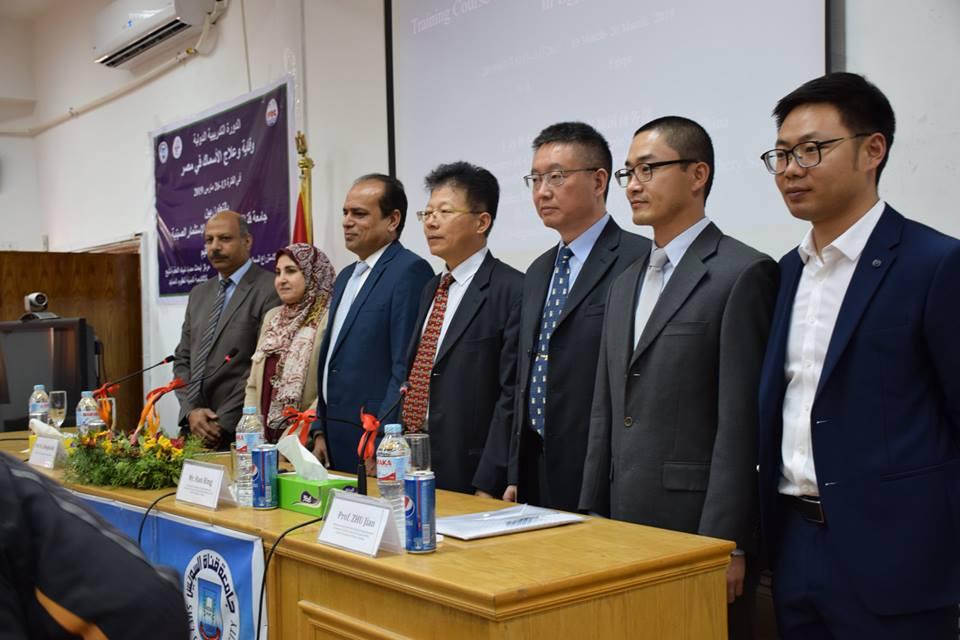 وقاية وعلاج أمراض الأسماك…دورة دولية بين الجانبين المصري و الصيني بجامعة قناة السويس