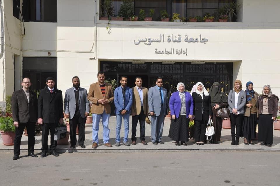 """انطلاق تصفيات المرحلة الأولى لمبادرة """"رالي المشروعات"""" بجامعة قناة السويس"""