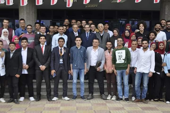 ٢٠ مشروع تخرج بالمؤتمر الطلابي الرابع لحاسبات القناه