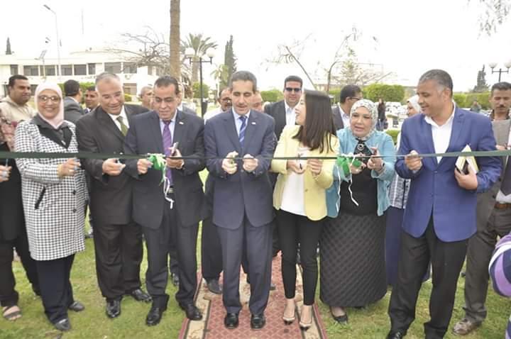 بمشاركة ٢٠ شركة صينية افتتاح ملتقى التوظيف الثانى للشركات الصينية العاملة في مصر بجامعة قناة السويس