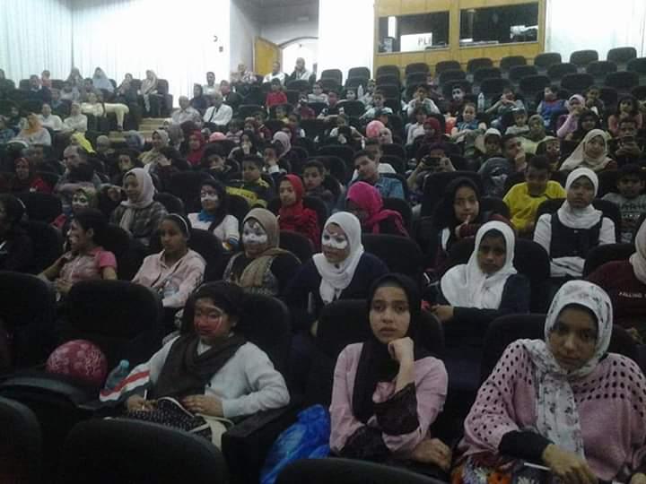 جامعة القناة  تحتفل بيوم التكافل الإجتماعي