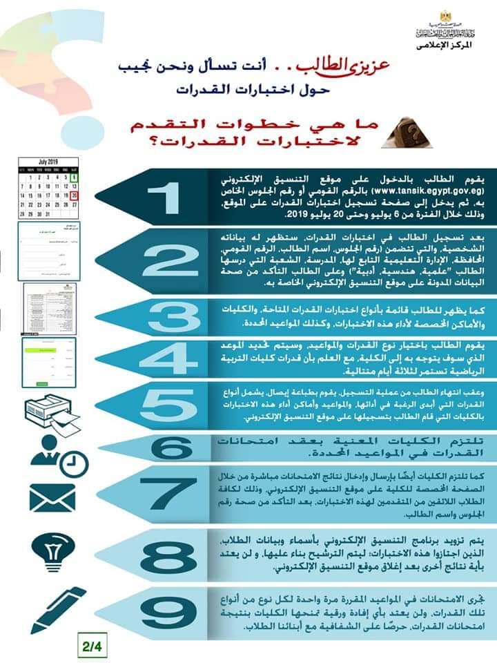 خطوات التقدم لإختبارات القدراتو كل ما تريد معرفتة عن اختبارات القدرات