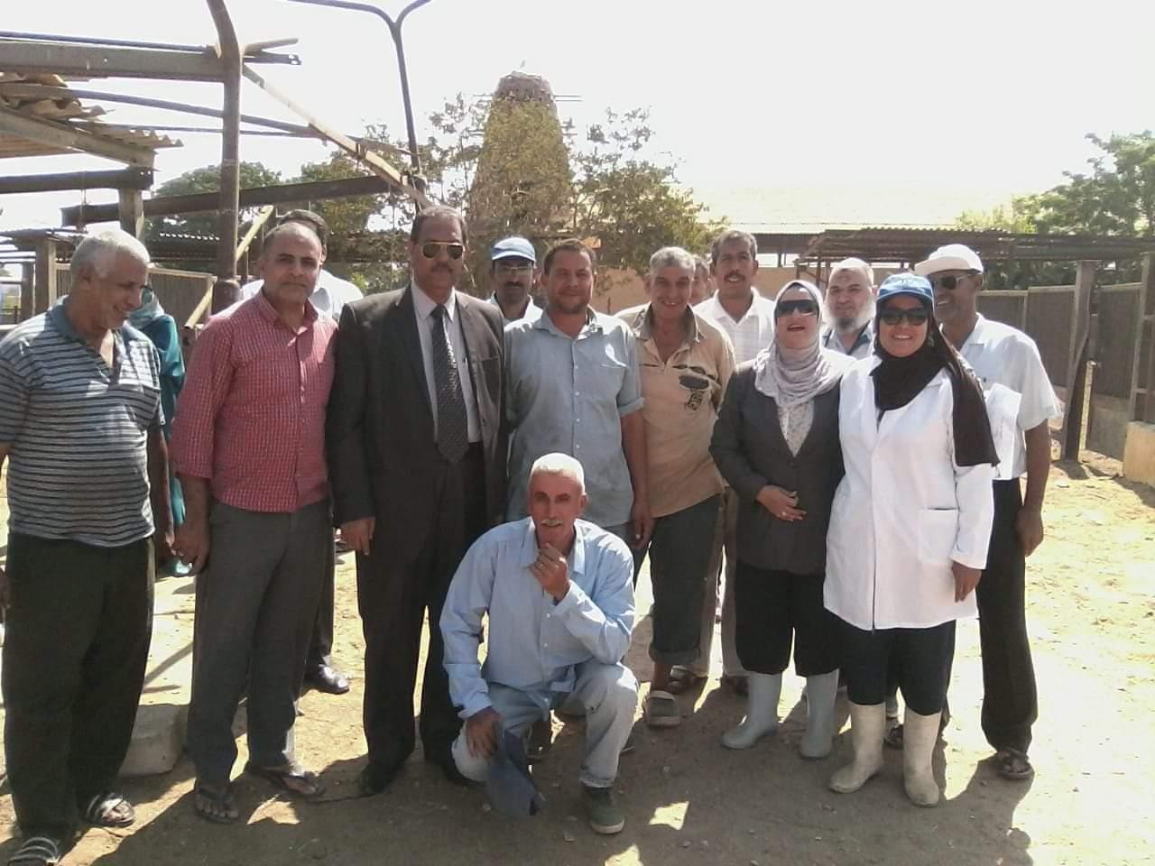 كلية الطب البيطرى جامعة قناة السويس توفر اضاحى للمواطنين ونقطتان للذبح اول وثانى ايام العيد