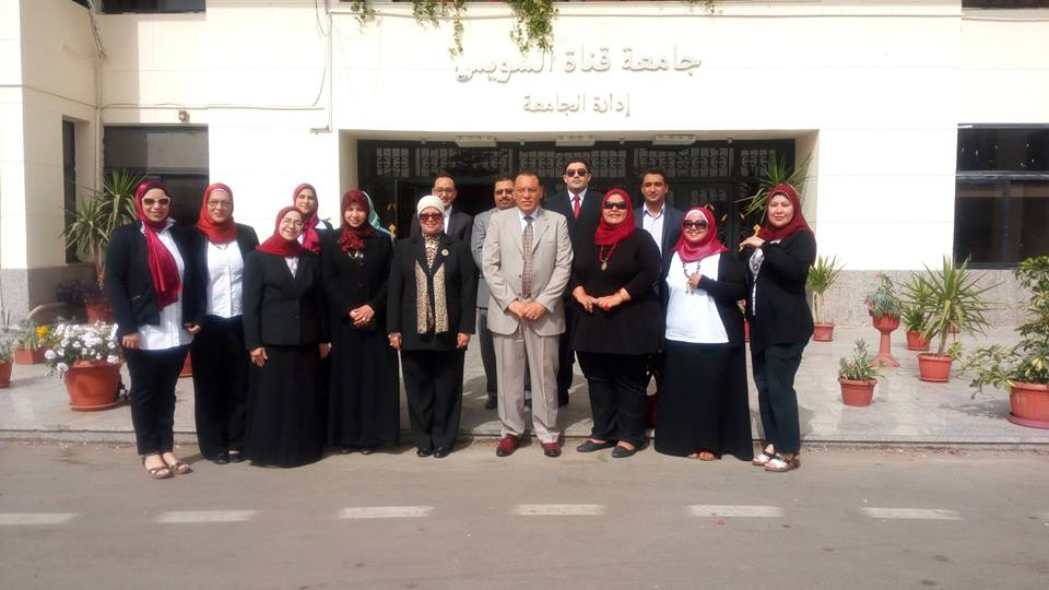 Canal University President meets with Committee of preparation of young researchers Conference