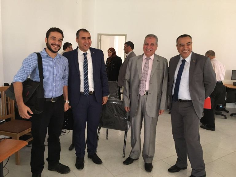 The meeting of higher committee of ISO at knowledge Embassy at Suez Canal University