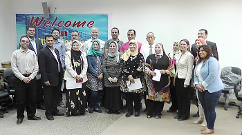 A training course in cooperation between the Education and Student Affairs Sector at the Faculty of Computing and Information