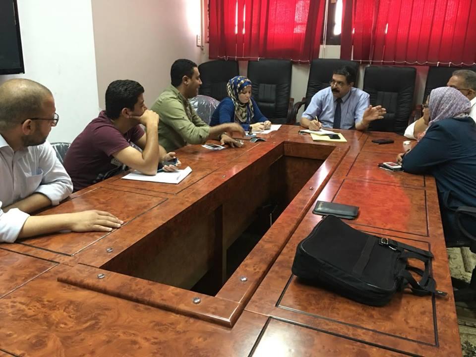 Director of University Education Development Center begins preparations of reception coordination students