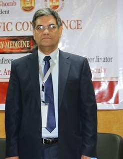 Prof. Dr. Mohammed Saleh, director of the Specialty Hospital at Suez Canal University