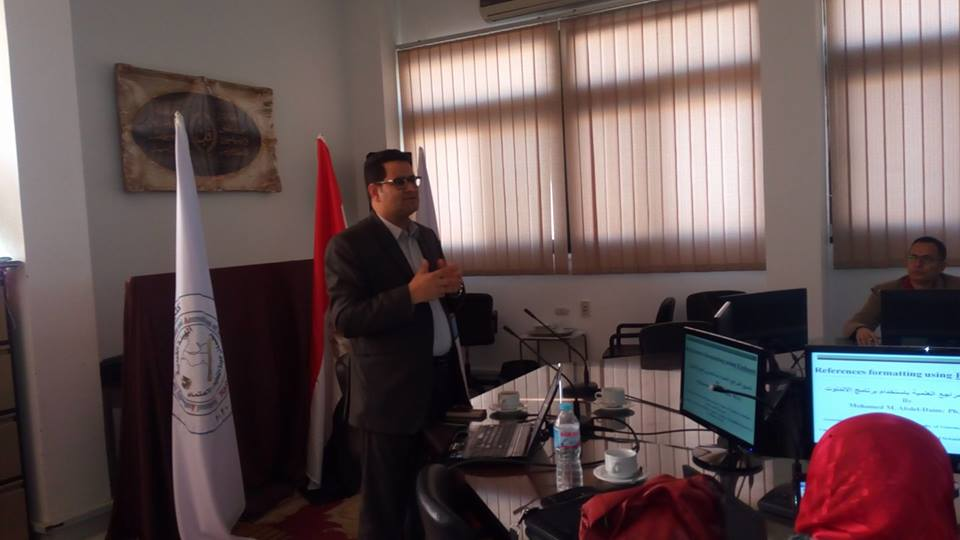 A workshop on the coordination of scientific references using End Note program at Canal Medicine
