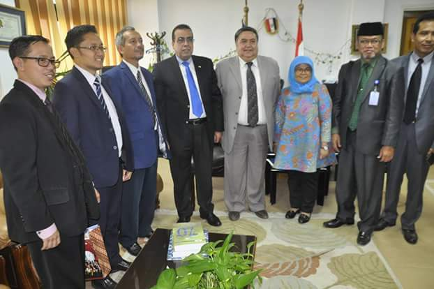 Suez Canal University welcomes a delegation from Indonesian Ministry of Education and Culture