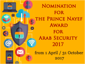 Nomination for the Prince Nayef Award for Arab Security