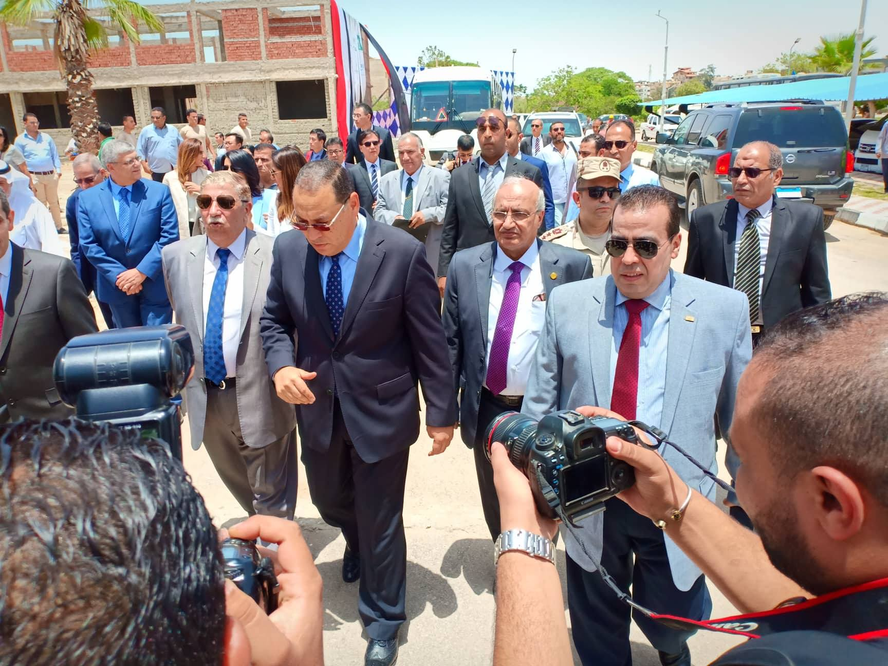 Suez Canal University celebrates the launch of the study at the Egyptian-Chinese Applied Technology College this year