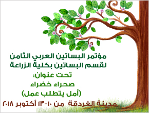 Organizing the 8th Arab Horticulture Conference, Department of Horticulture, Faculty of Agriculture, Hurghada