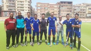 The Hokey team of Suez Canal wins the higher institutes
