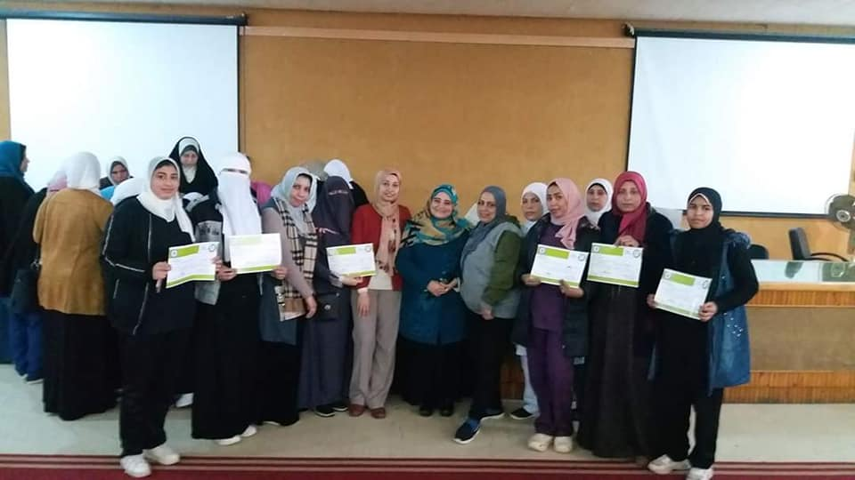 A training course on the basics of infection control in health facilities at Suez Canal University Hospital
