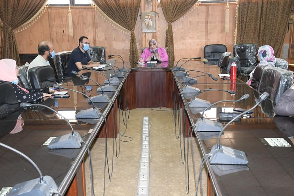 The first meeting of the International Publishing Center at Suez Canal University